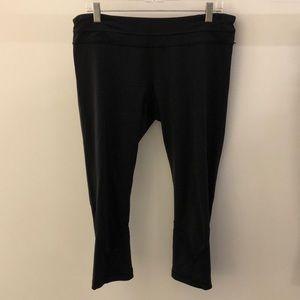 Lululemon black crop legging, sz 12, 67759